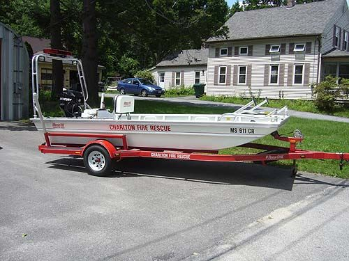 2007 Rescue One Connector Boat